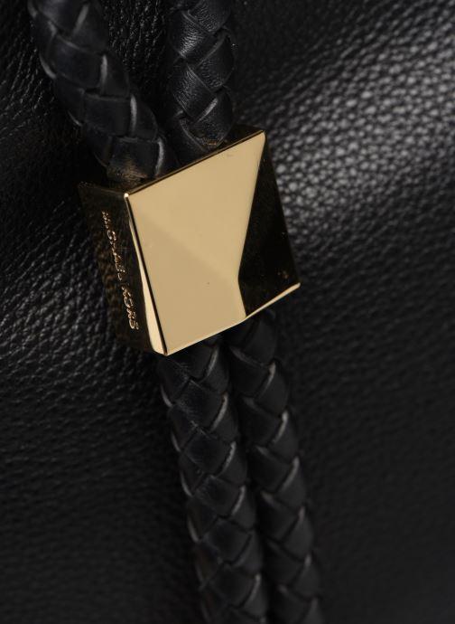 Handtaschen Michael Michael Kors LEXINGTON LG SHOULDER schwarz ansicht von links