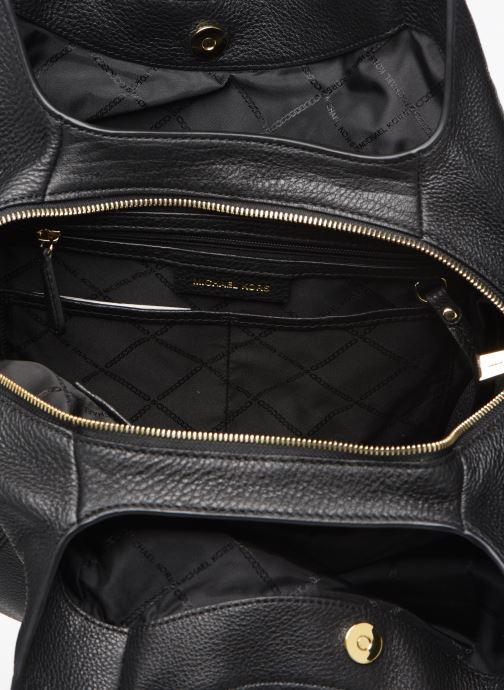 Handtaschen Michael Michael Kors LILIE LG CHAIN SHOULDER TOTE schwarz ansicht von hinten