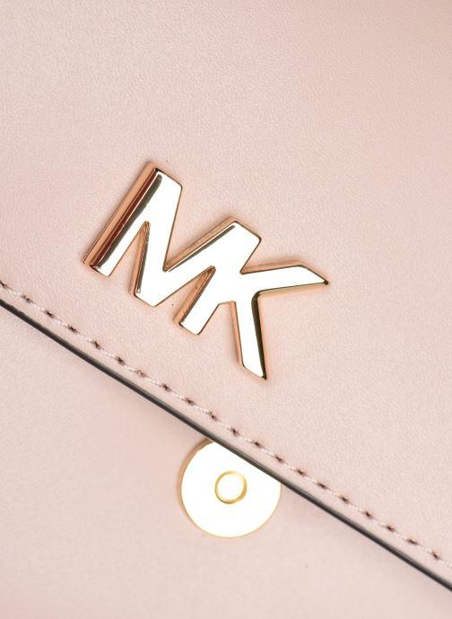 Marroquinería pequeña Michael Michael Kors MOTT BELT BAG Rosa vista lateral izquierda