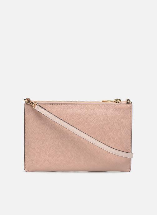 Mini Bags Michael Michael Kors LG DOUBLE POUCH CROSSBODY rosa ansicht von vorne