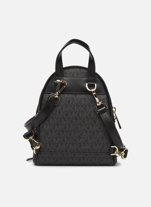 Mochilas Michael Michael Kors XS MESSENGER BACKPACK Negro vista de frente