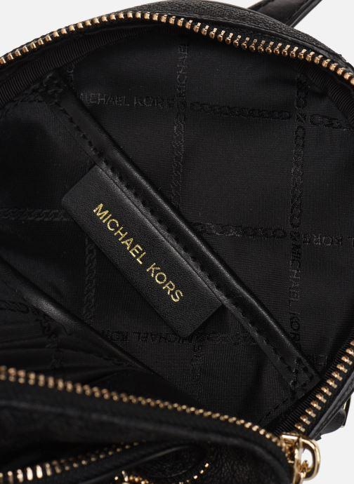 Rucksäcke Michael Michael Kors XS MESSENGER BACKPACK schwarz ansicht von hinten
