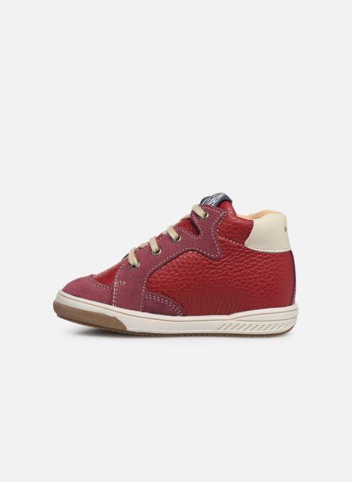 Sneakers Babybotte Ailice Rød se forfra