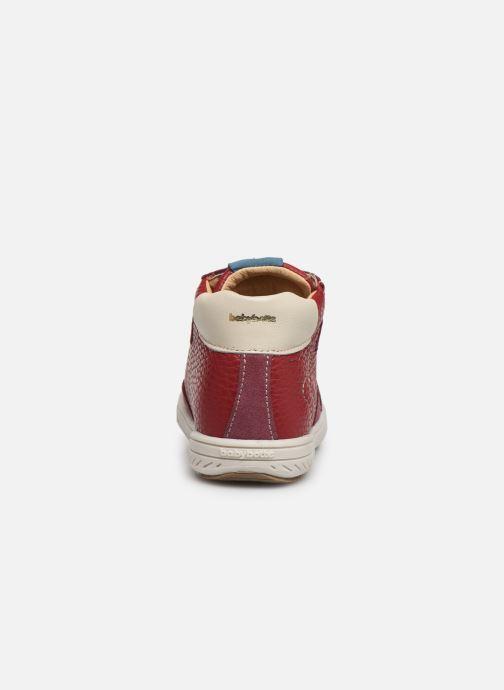 Sneakers Babybotte Ailice Rød Se fra højre