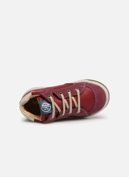 Sneakers Babybotte Ailice Rød se fra venstre