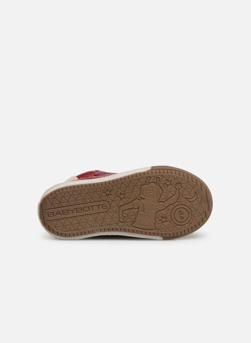 Sneakers Babybotte Ailice Rød se foroven