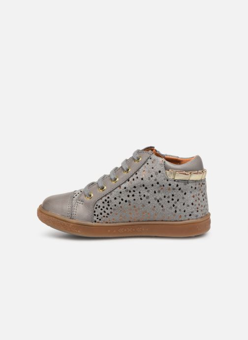 Ankle boots Babybotte Aivantail Grey front view