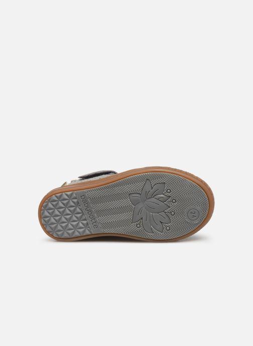 Bottines et boots Babybotte Aivantail Gris vue haut