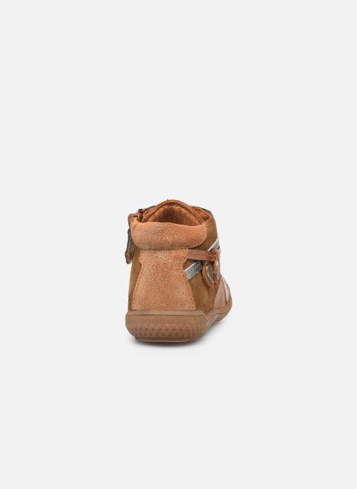 Bottines et boots Babybotte Arbustine Marron vue droite