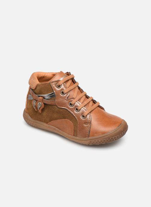 Bottines et boots Babybotte Arbustine Marron vue détail/paire