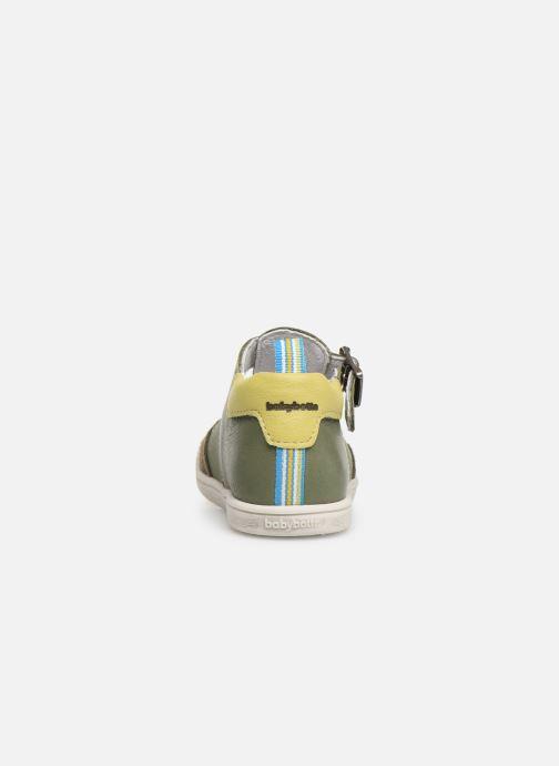 Sandales et nu-pieds Babybotte PALA Vert vue droite