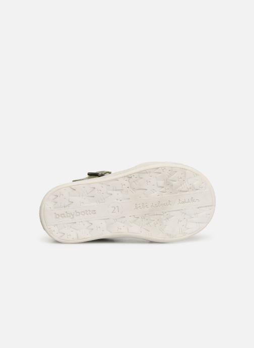 Sandales et nu-pieds Babybotte PALA Vert vue haut