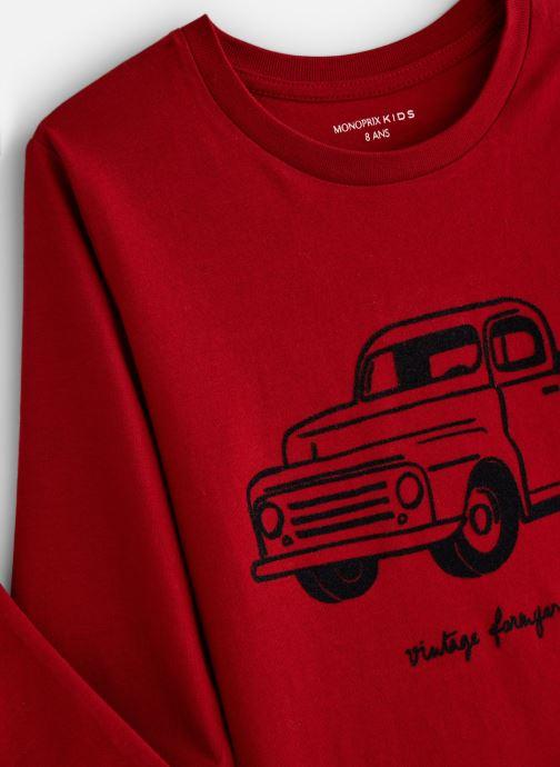 Kleding Monoprix Kids T-shirt manches longues Truck Rood model