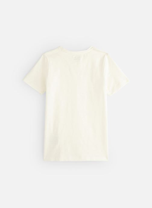 Ropa Monoprix Kids T-shirt manches courtes Slub Bio Blanco vista de abajo