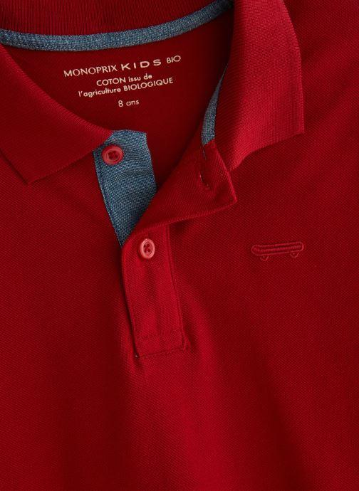 Kleding Monoprix Kids T-shirt manches courtes Piq UNBIO Rood model