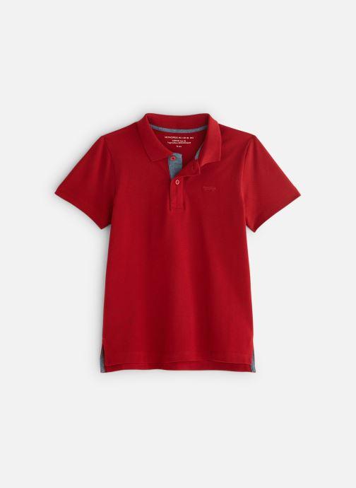 Kleding Monoprix Kids T-shirt manches courtes Piq UNBIO Rood detail