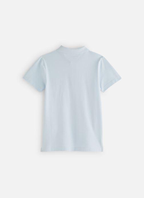 Vêtements Monoprix Kids T-shirt manches courtes Piq UNBIO Bleu vue bas / vue portée sac