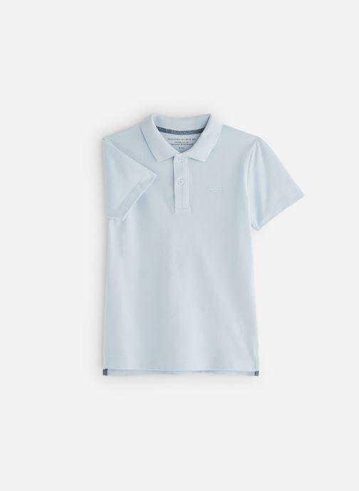 Vêtements Monoprix Kids T-shirt manches courtes Piq UNBIO Bleu vue détail/paire