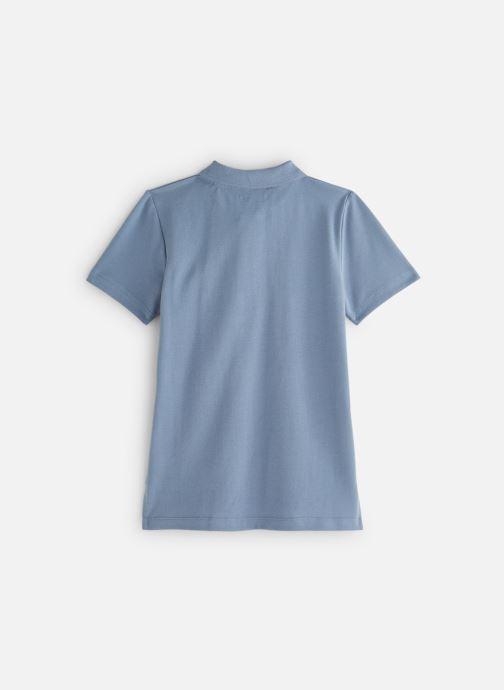 Vêtements Monoprix Kids Polo manches courtes Ess Bleu vue bas / vue portée sac