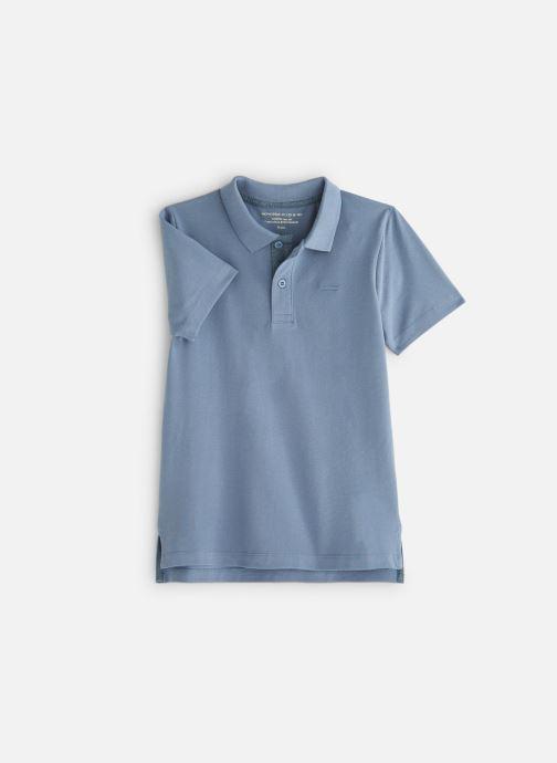 Vêtements Monoprix Kids Polo manches courtes Ess Bleu vue détail/paire