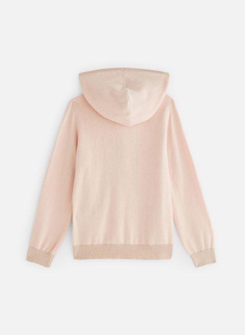 Vêtements Monoprix Kids Cardigan capuche Rose vue bas / vue portée sac