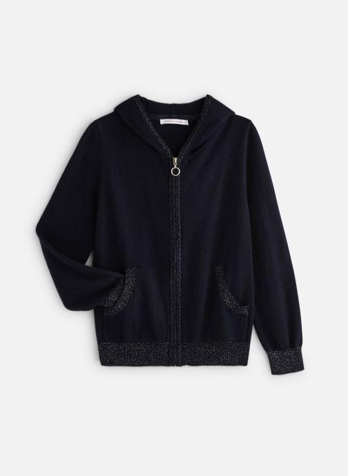 Vêtements Monoprix Kids Cardigan capuche Bleu vue détail/paire