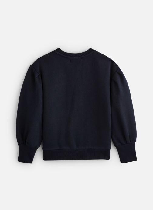 Vêtements Monoprix Kids Sweat brodé fleurs Bleu vue bas / vue portée sac