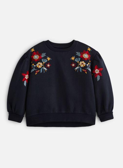 Vêtements Monoprix Kids Sweat brodé fleurs Bleu vue détail/paire