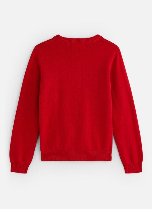 Vêtements Monoprix Kids Pull Fox Rouge vue bas / vue portée sac