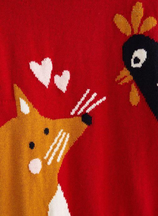 Vêtements Monoprix Kids Pull Fox Rouge vue portées chaussures