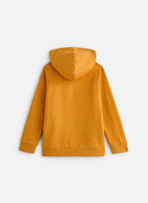 Vêtements Monoprix Kids Sweat capuche Ari Orange vue bas / vue portée sac