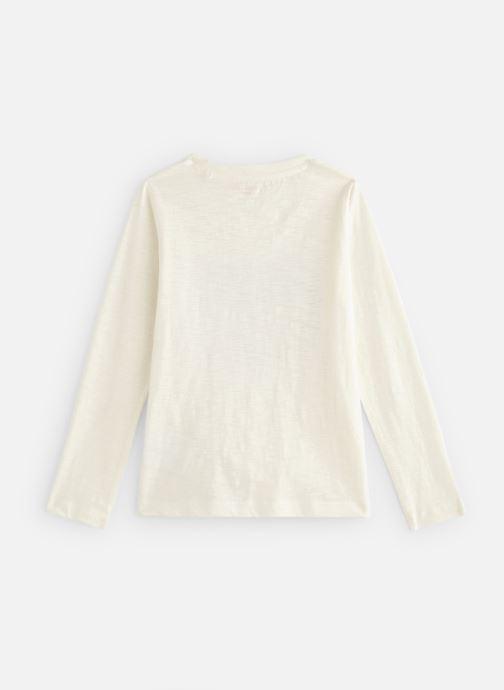 Vêtements Monoprix Kids T-shirt manches longues Magic Fox Blanc vue bas / vue portée sac