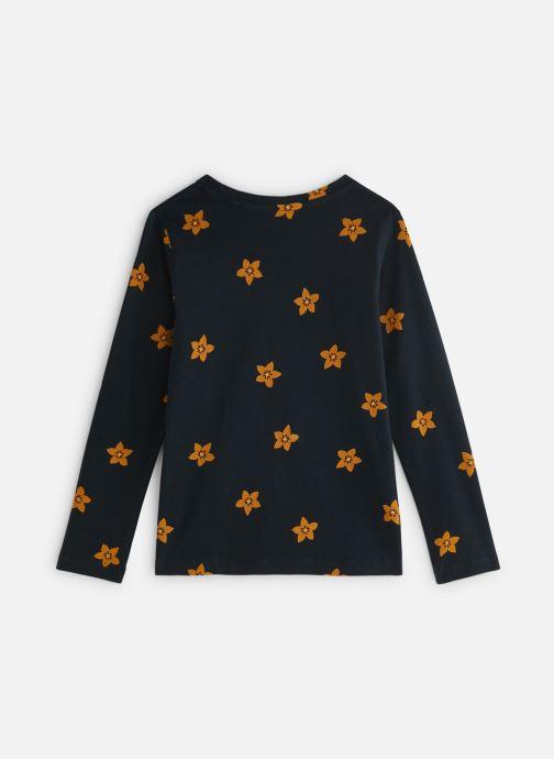 Vêtements Monoprix Kids T-shirt manches longues Magic Smile Bleu vue bas / vue portée sac