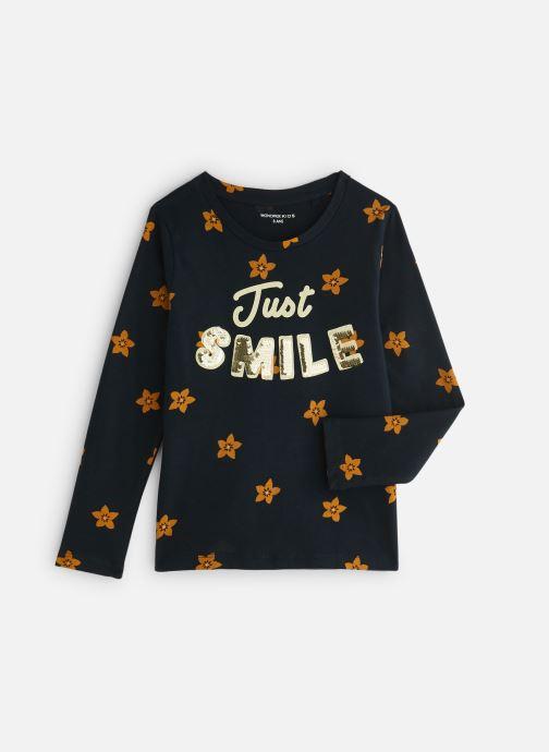 Vêtements Monoprix Kids T-shirt manches longues Magic Smile Bleu vue détail/paire