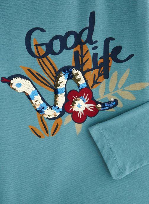 Kleding Monoprix Kids T-shirt manches longues Snake Blauw model