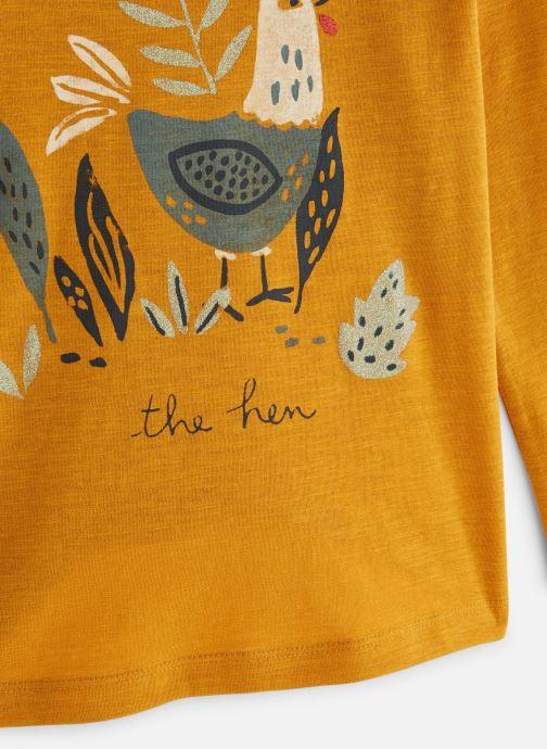 Vêtements Monoprix Kids T-shirt manches longues Cocotte Orange vue portées chaussures