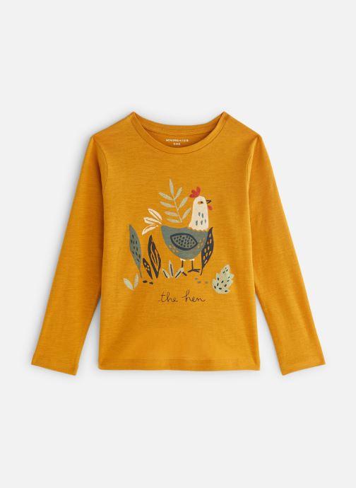 Vêtements Monoprix Kids T-shirt manches longues Cocotte Orange vue détail/paire