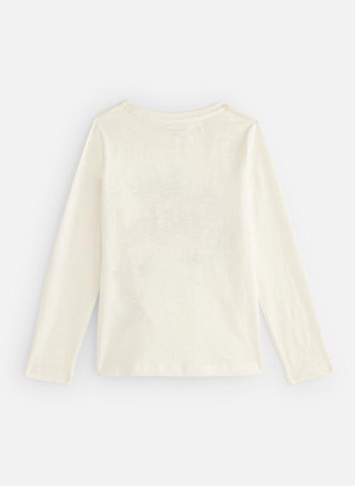 Kleding Monoprix Kids T-shirt Renard Wit onder