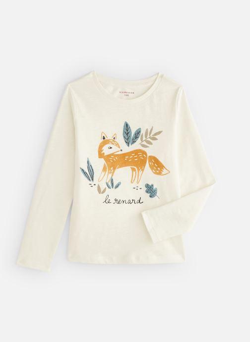Kleding Monoprix Kids T-shirt Renard Wit detail