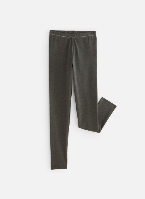 Vêtements Monoprix Kids Legging uni bio Ess Gris vue détail/paire
