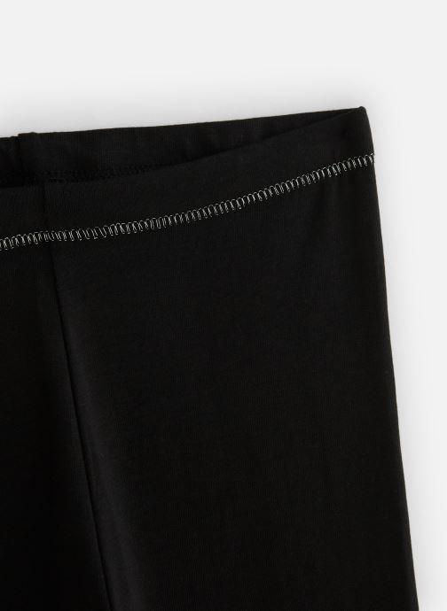 Vêtements Monoprix Kids Legging uni bio Ess Noir vue portées chaussures