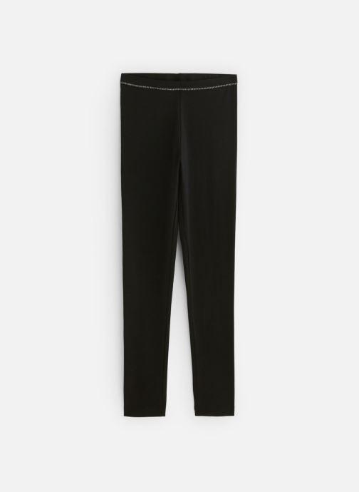 Vêtements Monoprix Kids Legging uni bio Ess Noir vue détail/paire
