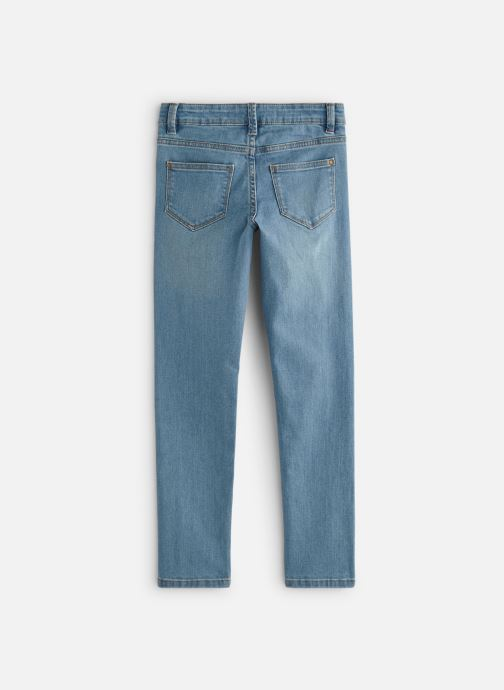 Vêtements Monoprix Kids Jean Slim Ess Bleu vue bas / vue portée sac
