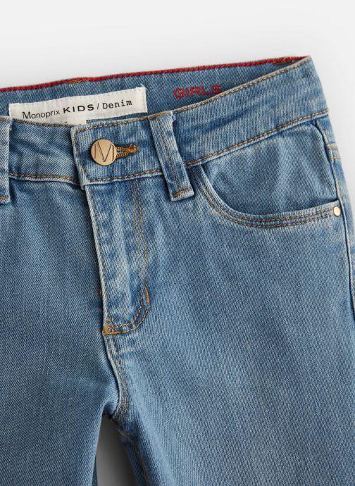 Vêtements Monoprix Kids Jean Slim Ess Bleu vue portées chaussures