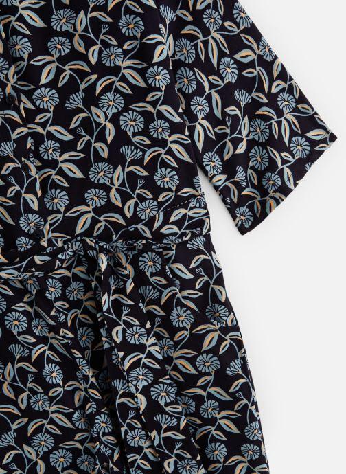 Vêtements Monoprix Kids Combi pantalon fleurs Bleu vue portées chaussures