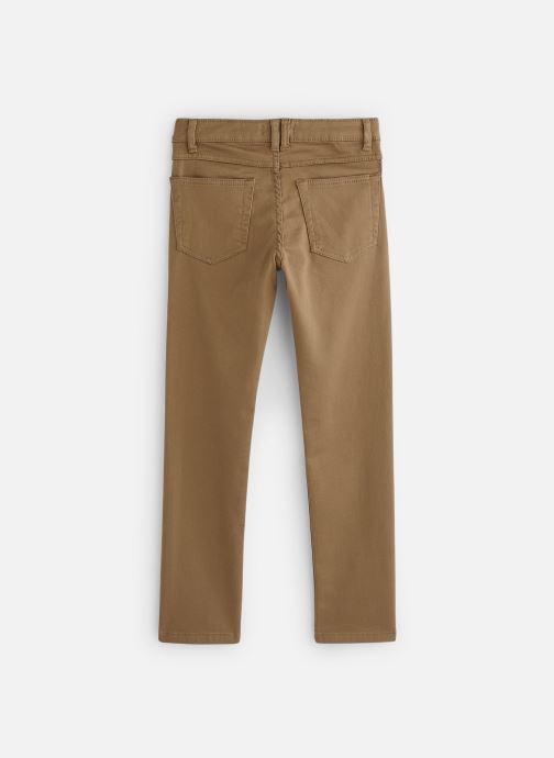 Tøj Monoprix Kids Pantalon Slim Ari Beige se forneden