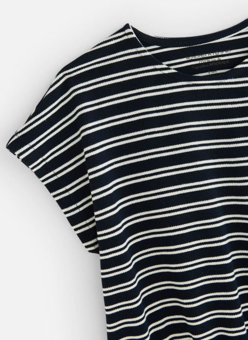 Vêtements Monoprix Kids Robe Polo Ry bio Bleu vue portées chaussures