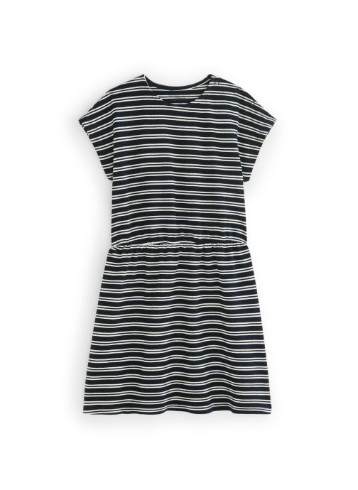 Vêtements Monoprix Kids Robe Polo Ry bio Bleu vue détail/paire