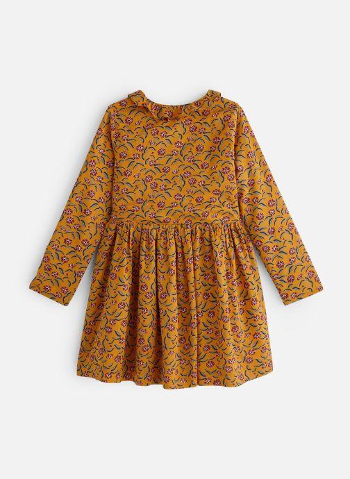 Vêtements Monoprix Kids Robe Twill fleurs Marron vue bas / vue portée sac