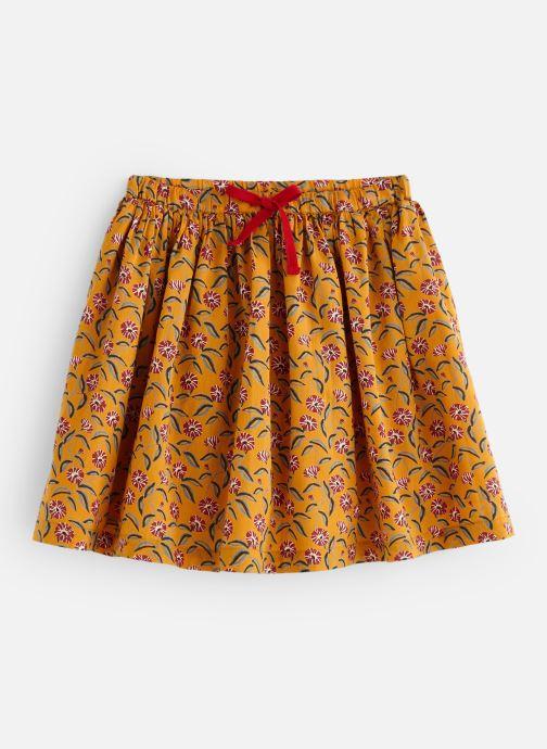 Kleding Monoprix Kids Jupe Twill Oranje detail
